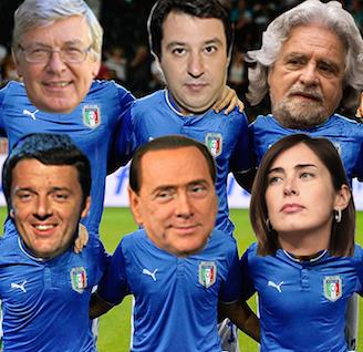 La Squadra delle Riforme?  Nei mondiali delle riforme siamo ai tempi supplementari. Finora l'Italia ha segnato zero.