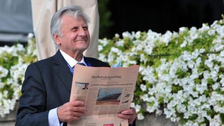 """L'ex BCE Jean-Claude Trichet: """"Mario è il più adatto a guidare la ripresa. Ora l'Italia deve fare le riforme strutturali"""""""